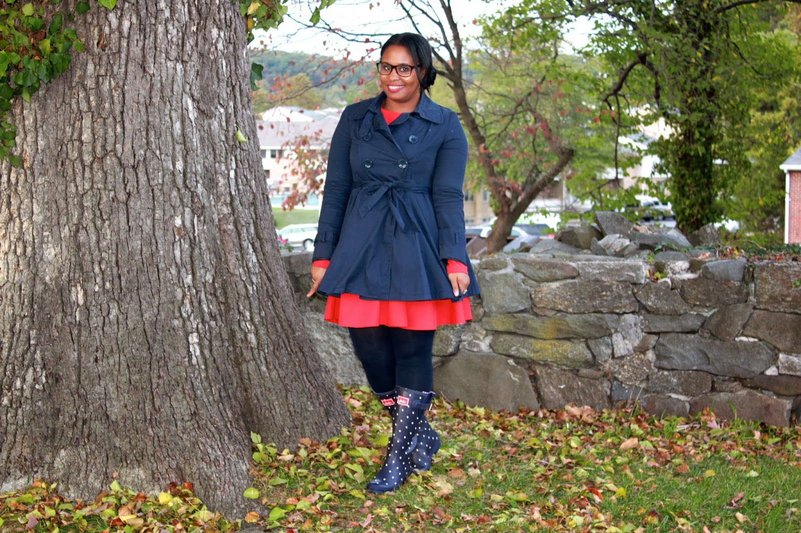 Pish Posh Perfect | A Style Savvy Life: Red White & (Joules) Rain ...