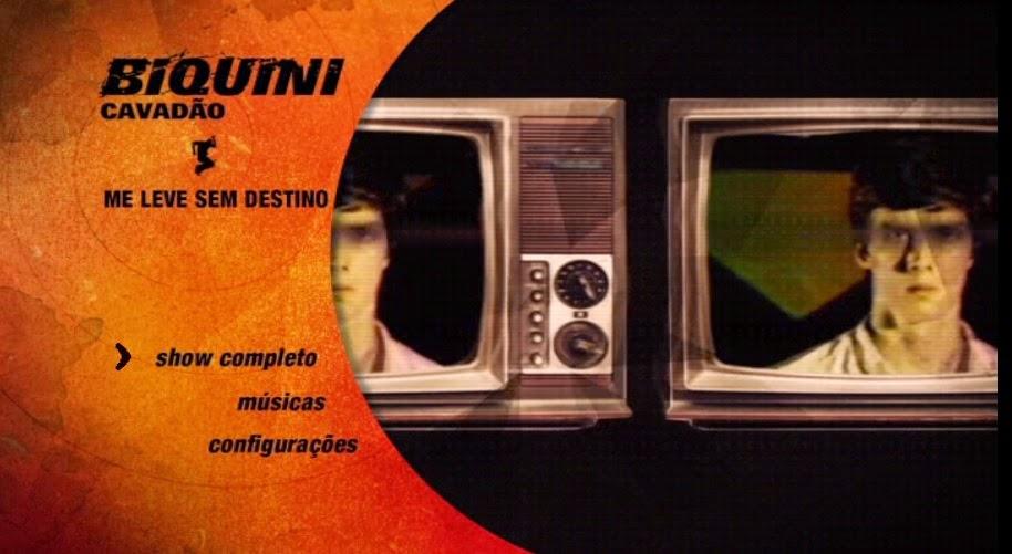 CLICK AQUI  Download Biquini Cavadão Me Leve Sem Destino DVD-R SASADSA