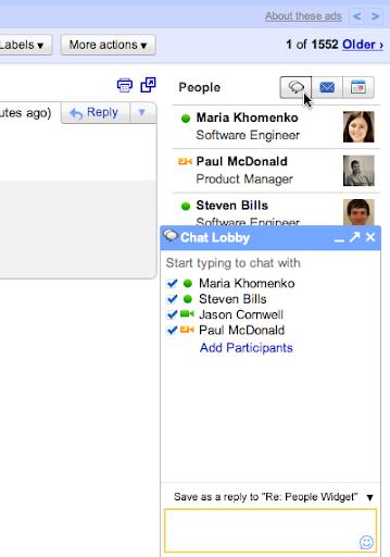 Gmail ya muestra información de los contactos en la Bandeja de Entrada 35