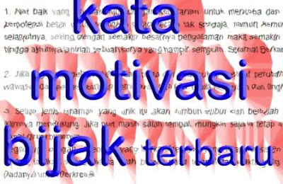 gambar kata motivasi bijak terbaru