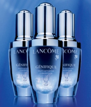 free 7 day supply of lancome genifique youth serum. Black Bedroom Furniture Sets. Home Design Ideas