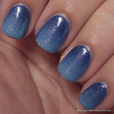 glitter obsession: W28: Gradient Nails