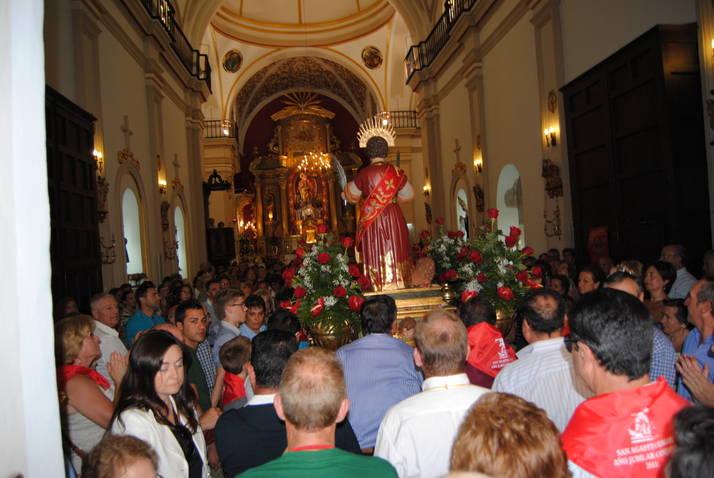 Peregrinación de San Agapito a Canjáyar