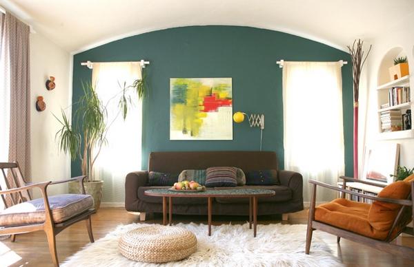 Pilihan Warna Menarik untuk Ruang Tamu