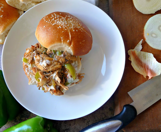 chicken philly cheese steaks recipe