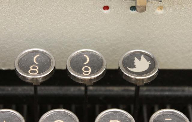 a twitter typewriter