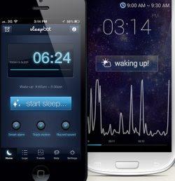 registra suoni nel sonno e sveglia