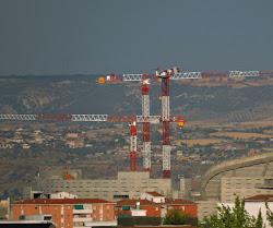 ** Última fotografía desde la ciudad de Madrid