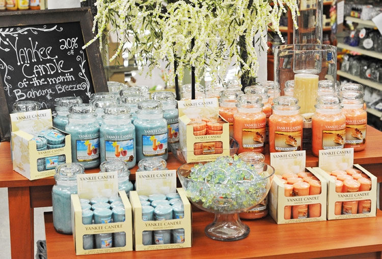 Ben franklin crafts and frame shop candles of the month for Ben franklin craft store coupons