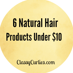 cheap natural hair products