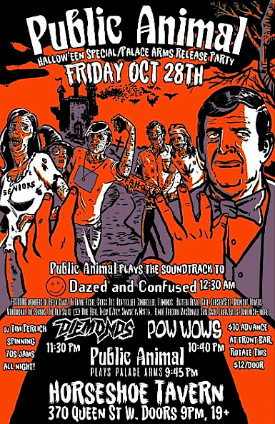 Public Animal's Halloween Special @ The Horseshoe, Friday