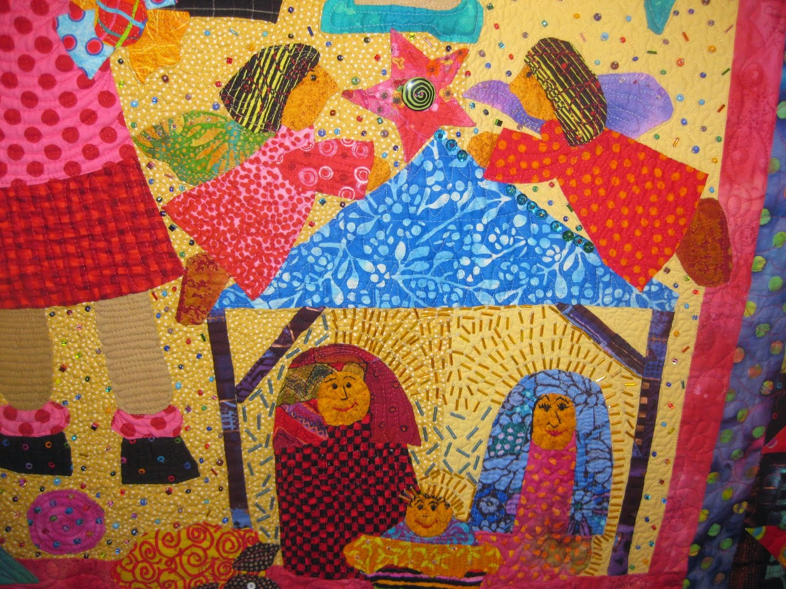Nativity Ideas for Christmas workshop at Asilomar