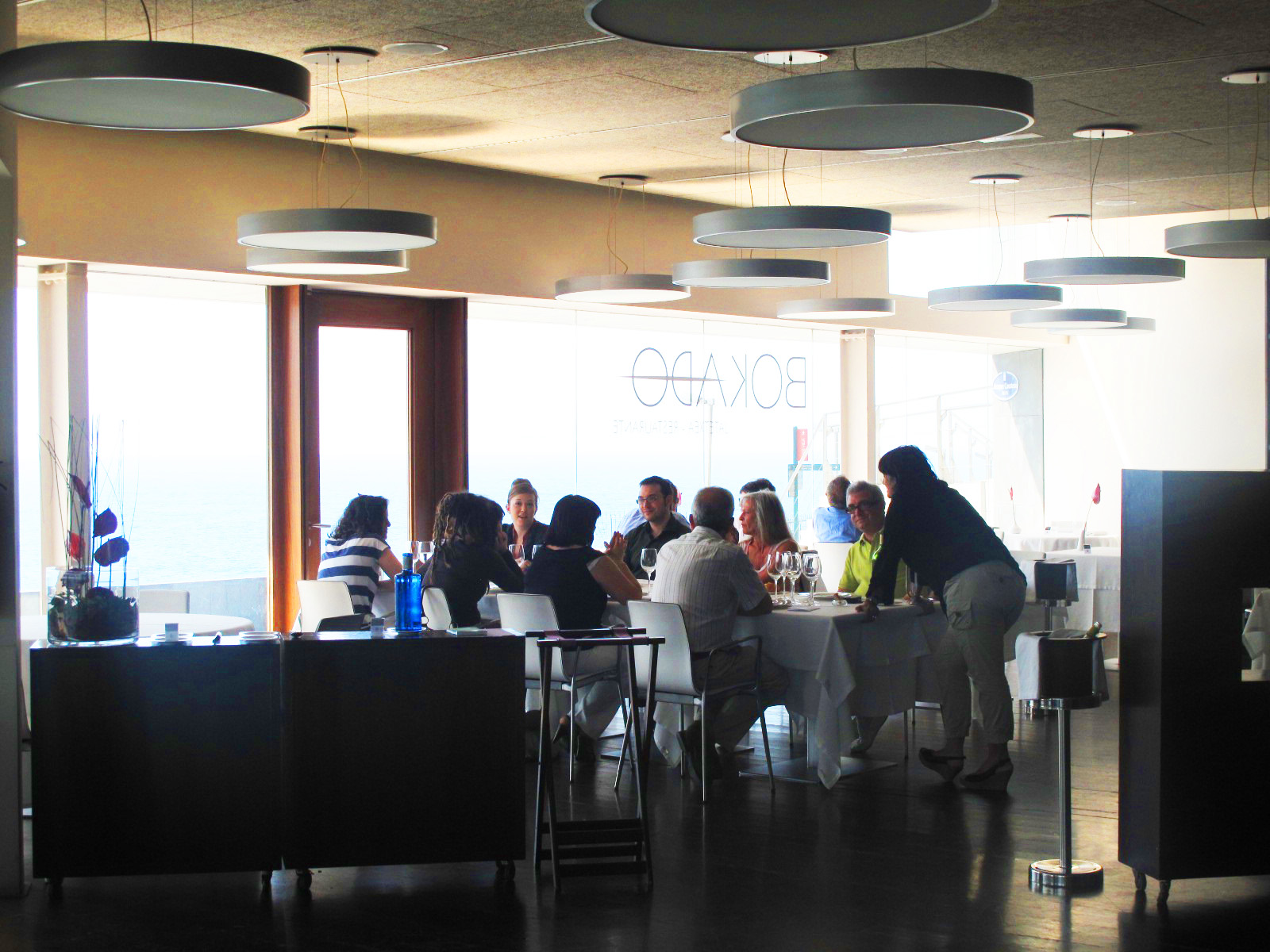 Restaurante Aquarium San Sebastian. Trendy Gallery Image Of This ...