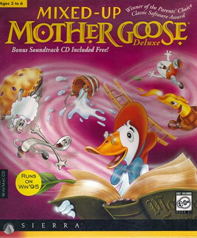 Mixed-Up Mother Goose Deluxe | 1995 | Español