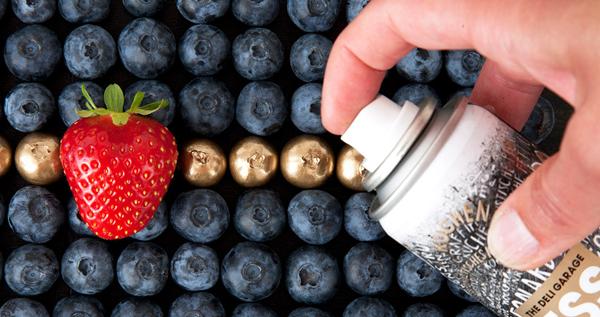 ESSLACK - Spray Paint for Food blue berries