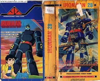 Iron Man 28 (Animé - Caja de cartón destruida)