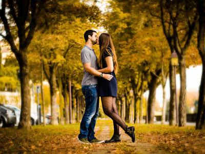 fotografias de besos de amor
