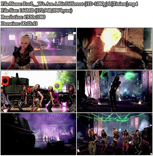 Download MV EvoL (이블) - We Are A Bit Different (우린 좀 달라) (Full HD 1080p)