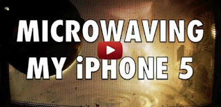 iphone 5 into microwave