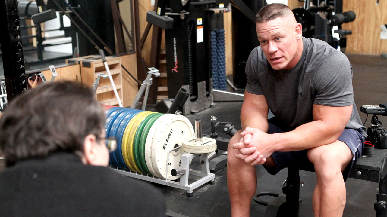 John Cena Bodybuilding Workout John cena workout in gym john