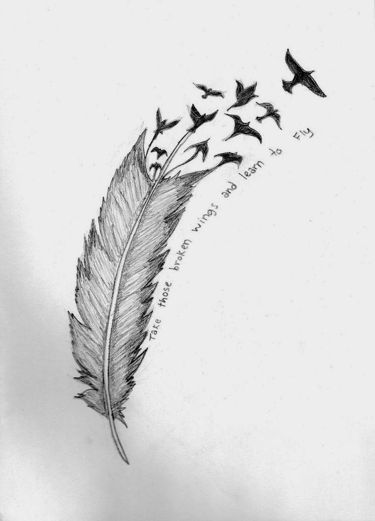 Dave Tatoos Topic Eagle Feather Tattoo Designs