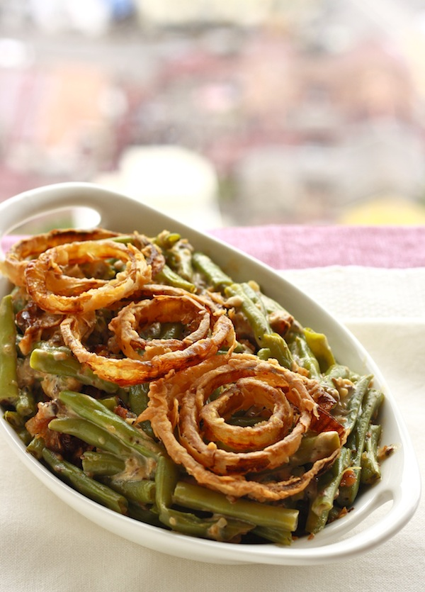 Homemade Green Bean Casserole recipe by SeasonWithSpice.com