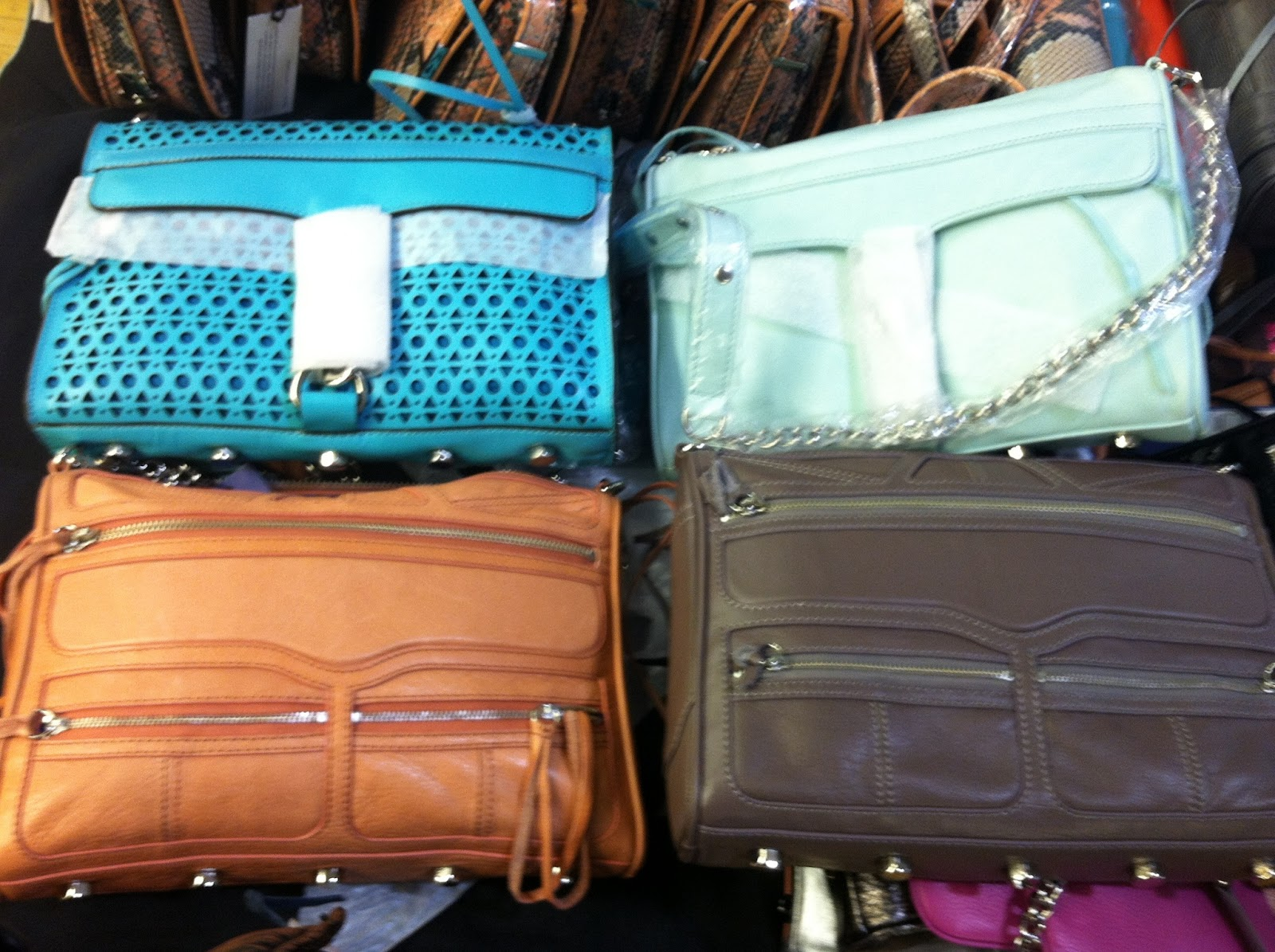 NYC: Rebecca Minkoff Sample Sale Report, May 6-11th 2013 - Shelly ...