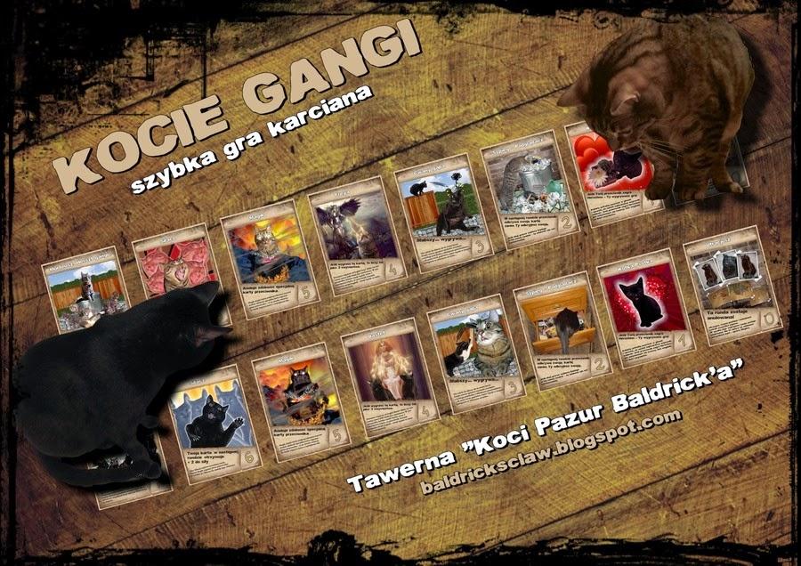 Kocie gangi - gra karciana