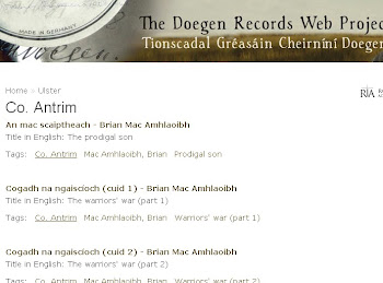 Records of Antrim Irish