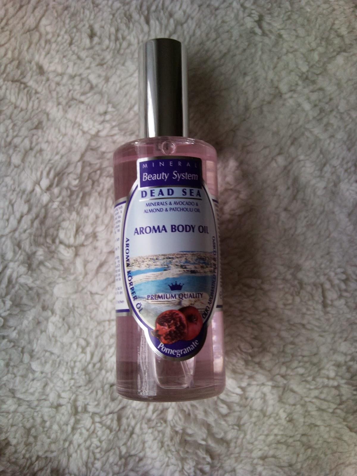 Aromatický telový olej Dead sea :)