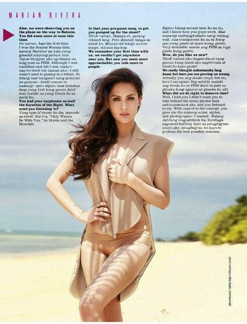 'Most Beautiful Girl Philippines' Semi nude beach