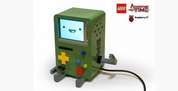 BMO  Hora de Aventuras LEGO