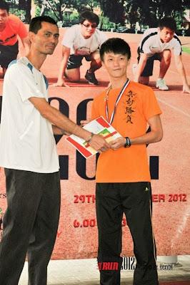 Monash Run Gold Medalist