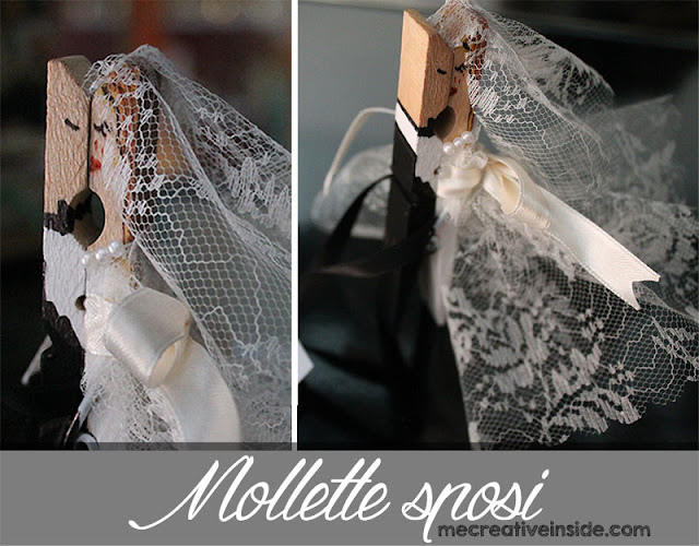 tutorial diy mollette sposi ME creativeinside