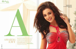 Amy Jackson on the cover of INBOX1305 magazine