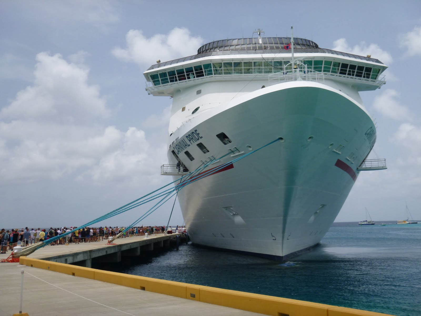 Cruise Ship Front View  Viewing Gallery