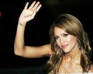 Jessica Alba Tattoo Designs