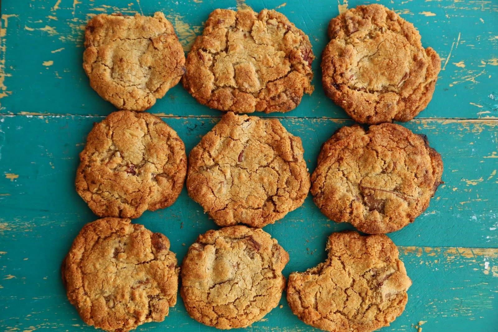 msmarmitelover pecan chocolate cookies with squidgy