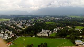 Vedere din Festung Hohensalzburg