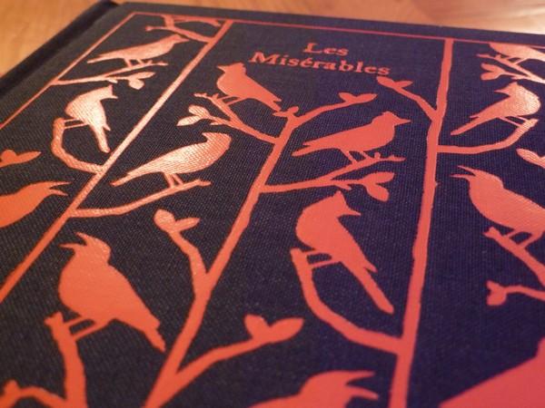 Les Miserables Book Back Cover Diy cut-out les miserables