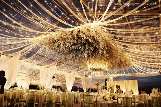 Wedding Chandeliers And Ceiling Decorations On Pinterest 55 Pins