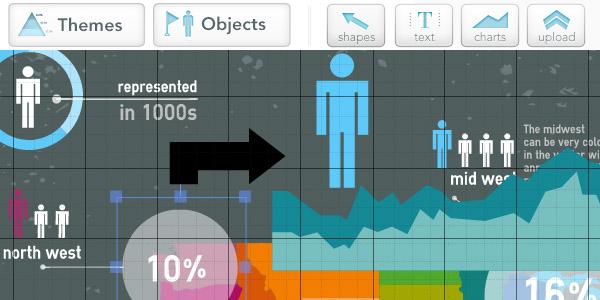 Онлайн-редактор инфографики
