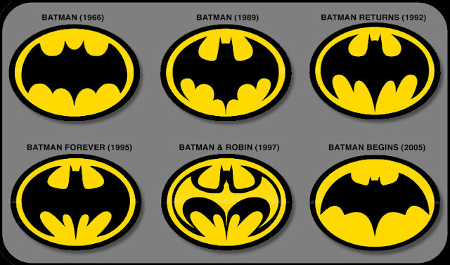 Batman logo development