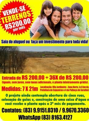 Vila Jardineiro - Cajazeiras/PB