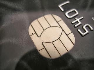svart kredittkort