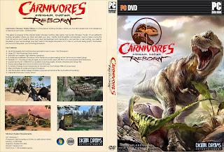Capa Canivores Dinosaur Hunter Reborn PC