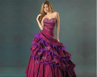 Allure-Quineanera dress