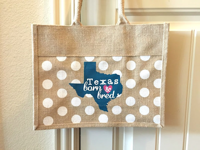 Cricut Texas Bag