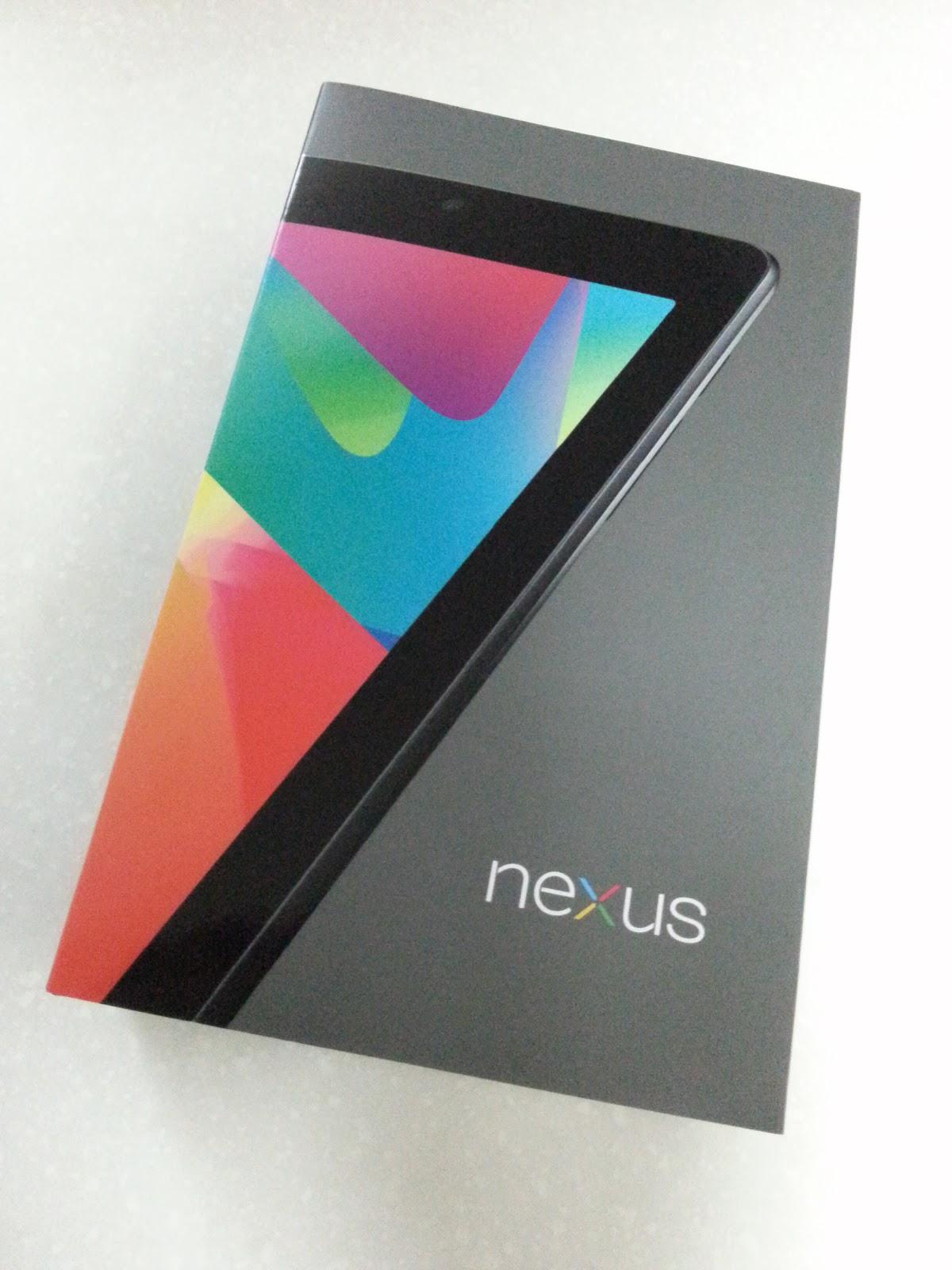 Galaxy S 覚書~へなちょこおたくメモ~: Nexus 7購入(とroot化)