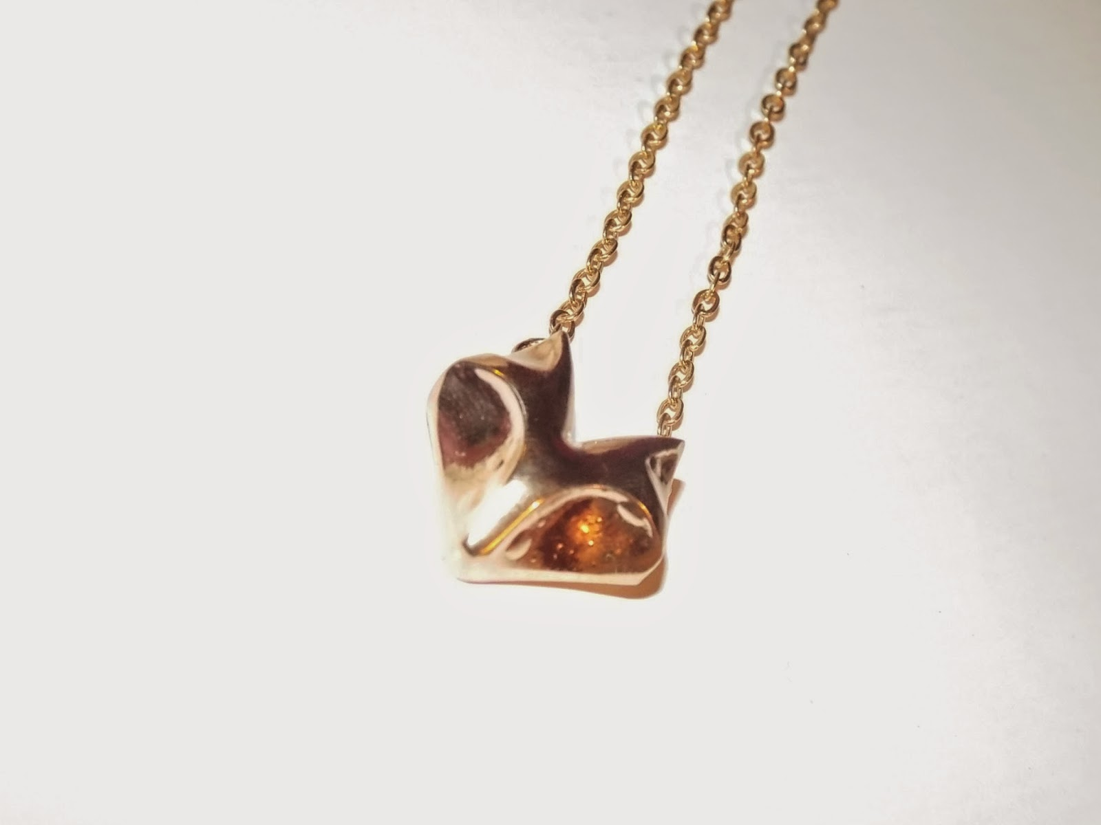 Foxy Necklace:  Alice Hollwood